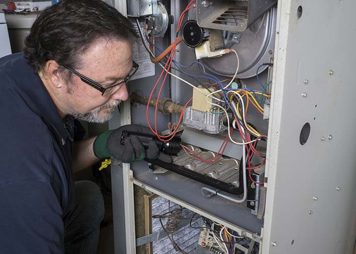 HVAC furnace repair replacement services in Houston