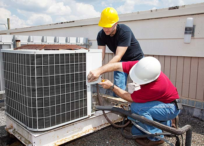 commercial air conditioner installation in Houston