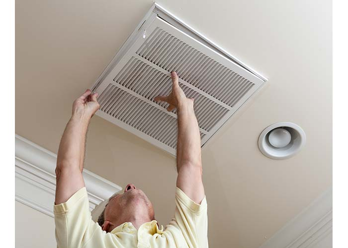 hvac heating system filtration installation in houston