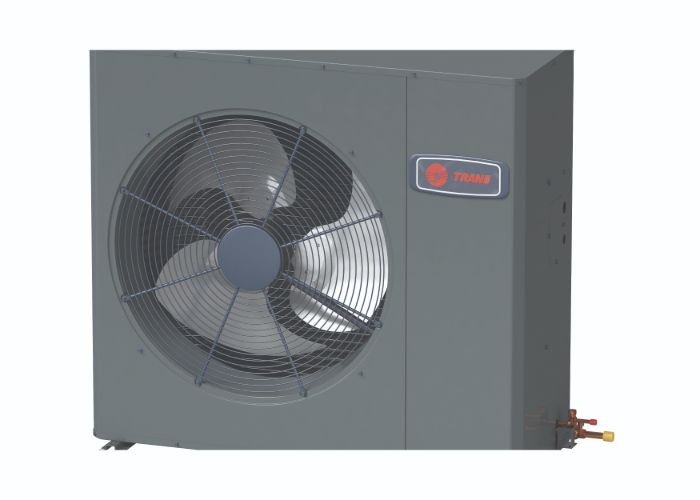 Trane air purifying heat pump system in Houston